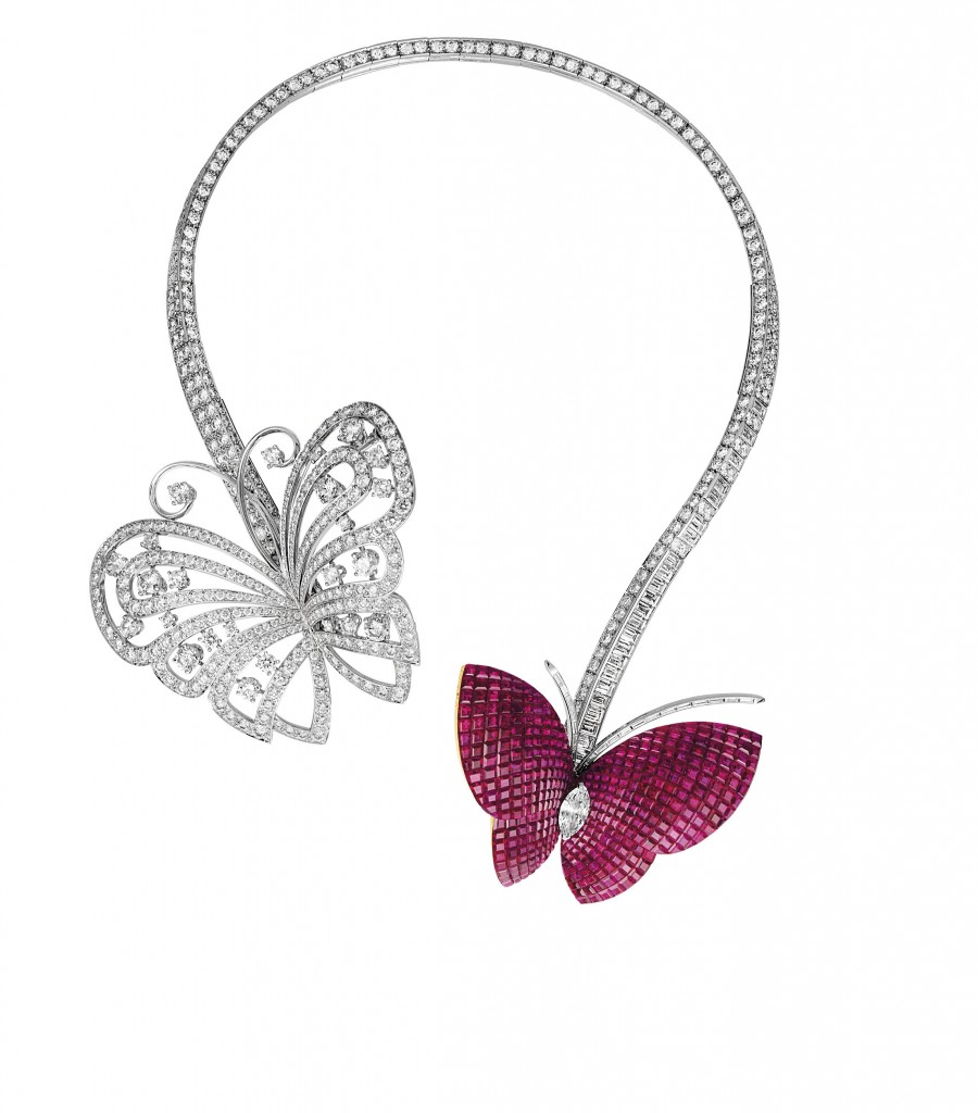 Van Cleef & Arpels - Mystery Setting Butterfly necklace - 2003 - Private Collection