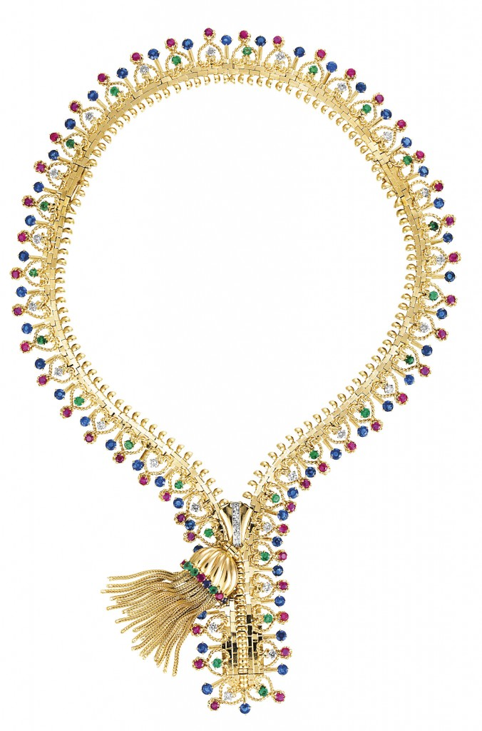 Van Cleef & Arpels - Zip necklace - 1951 - Van Cleef & Arpels Collection